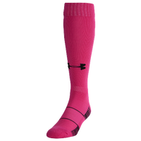 Under Armour Team Over The Calf Socks - Pink / Black