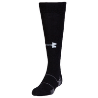 Under Armour Team Over the Calf Socks - Grade School - Black / Grey