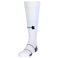 Under Armour Team Over the Calf Socks - Youth - White / Black