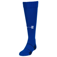 Under Armour Team Over the Calf Socks - Youth - Blue / Black