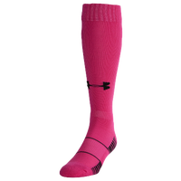 Under Armour Team Over the Calf Socks - Youth - Pink / Black