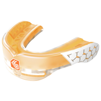 Shock Doctor Gel Max Power Flavored Mouthguard - Grade School - Orange / White