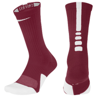 Nike Elite 1.5 Team Crew - Maroon / White