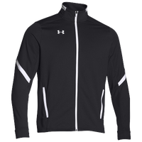 Under Armour Team Qualifier Warm Up Jacket - Men's - Black / White