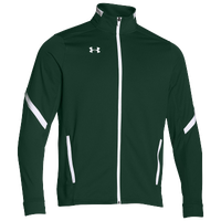 Under Armour Team Qualifier Warm-Up Jacket - Men's - Dark Green / White