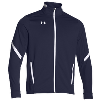 Under Armour Team Qualifier Warm-Up Jacket - Men's - Navy / White