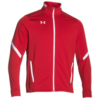 Under Armour Team Qualifier Warm Up Jacket - Men's - Red / White
