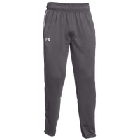 Under Armour Team Qualifier Warm-Up Pants - Men's - Grey / White