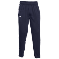 Under Armour Team Qualifier Warm Up Pants - Men's - Navy / White