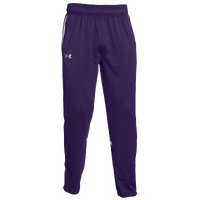 Under Armour Team Qualifier Warm-Up Pants - Men's - Purple / White