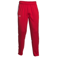 Under Armour Team Qualifier Warm-Up Pants - Men's - Red / White