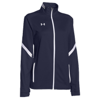 Under Armour Team Qualifier Warm Up Jacket - Women's - Navy / White