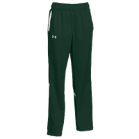 Under Armour Team Qualifier Warm Up Pants - Women's - Dark Green / White