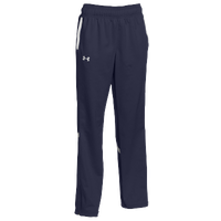Under Armour Team Qualifier Warm Up Pants - Women's - Navy / White