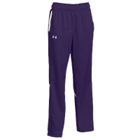 Under Armour Team Qualifier Warm Up Pants - Women's - Purple / White