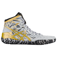 ASICS® Aggressor 3 LE - Men's - Grey / Gold