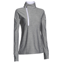 Under Armour Team Hotshot 1/2 Zip - Women's - Grey / White