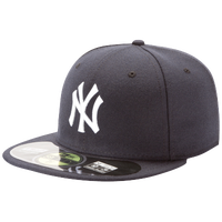 New Era 59FIFTY MLB Authentic Cap - Men's - New York Yankees - Navy / Navy