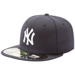 New Era 59FIFTY MLB Authentic Cap - Men's - New York Yankees - Navy