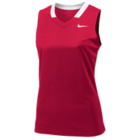Nike Team Face-Off Sleeveless Game Jersey - Women's - Red / White