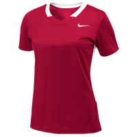Nike Team Face-Off Game Jersey - Women's - Red / White