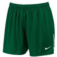 Nike Team Face-Off Game Shorts - Women's - Dark Green / White