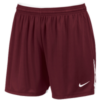 Nike Team Face-Off Game Shorts - Women's - Maroon / White