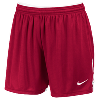 Nike Team Face-Off Game Shorts - Women's - Red / White