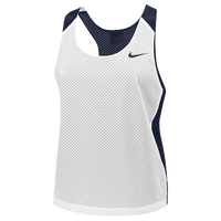 Nike Team Reversible Mesh Tank - Women's - Navy / White