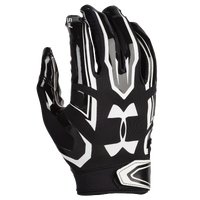 Under Armour F5 Football Gloves - Men's - Black / White