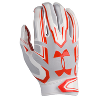 Under Armour F5 Football Gloves - Men's - White / Grey