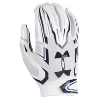 Under Armour F5 Football Gloves - Men's - White / Navy