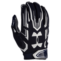 Under Armour F5 Football Gloves - Men's - Navy / White