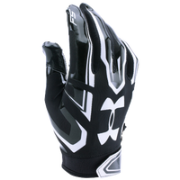 Under Armour F5 LE Football Gloves - Boys' Grade School - Black / White