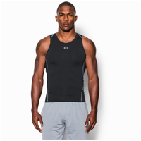 Under Armour HeatGear Armour Compression Tank - Men's - Black / Grey