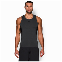 Under Armour HeatGear Armour Compression Tank - Men's - Grey / Black