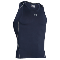 Under Armour HeatGear Armour Compression Tank - Men's - Navy / Grey