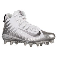 Nike Alpha Menace Pro Mid - Men's - Silver / White