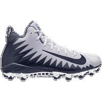 Nike Alpha Menace Pro Mid - Men's - White / Navy