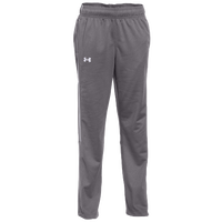 Under Armour Team Rival Knit Warm-Up Pants - Women's - Grey / White