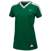 Nike Team Dri-FIT Game Jersey - Women's - Dark Green / Grey