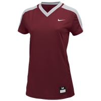 Nike Team Dri-FIT Game Jersey - Women's - Maroon / Grey