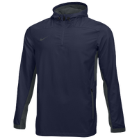 Nike Team Woven 1/4 Zip Jacket - Men's - Navy / Grey