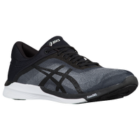 ASICS® Fuzex Rush - Men's - Grey / Black