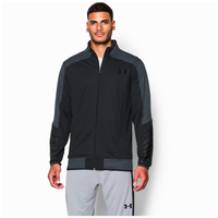 Under Armour Select Warm-Up Jacket - Men's - Black / Grey