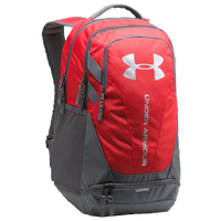 Under Armour Hustle Backpack 3.0 - Red / Grey