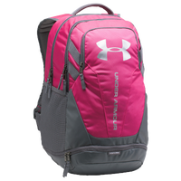 Under Armour Hustle Backpack 3.0 - Grey / Pink