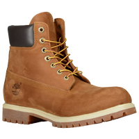 "Timberland 6"" Premium Waterproof Boots - Men's - Brown / Tan"