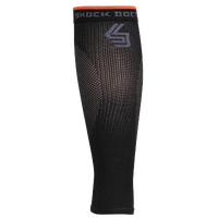 Shock Doctor SVR Recovery Compression Calf Sleeves - Black / Orange