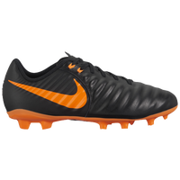 Nike Tiempo Legend 7 Academy FG - Boys' Grade School - Black / Orange